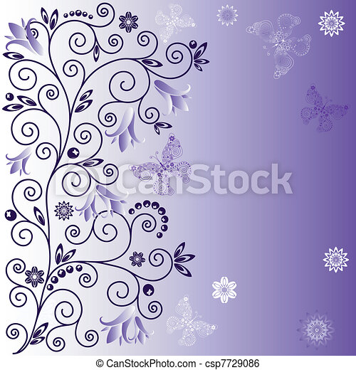 Gentle violet background - csp7729086