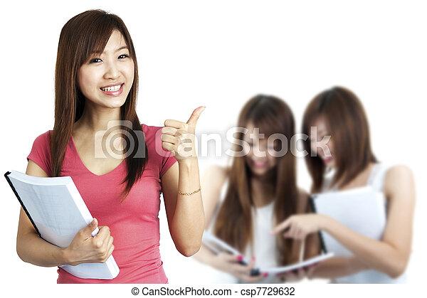 Adult Students - csp7729632