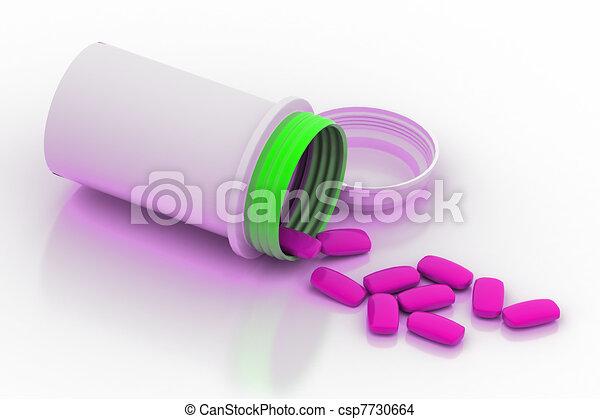 Prescription Pills - csp7730664