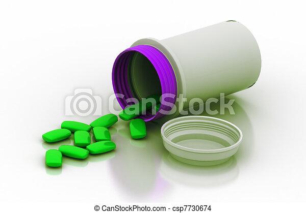 Prescription Pills - csp7730674