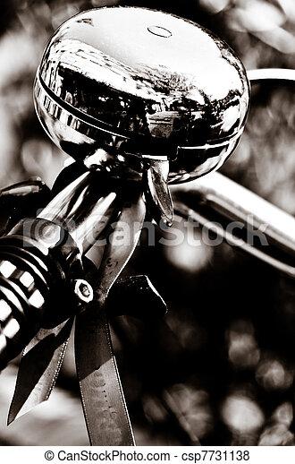 Shiny Metal Bicycle Bell - csp7731138
