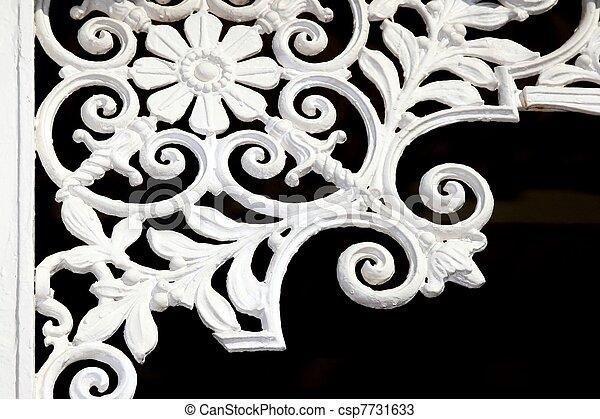 Iron Lattice Decoration - csp7731633