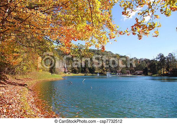 Autumn in West Virginia - csp7732512