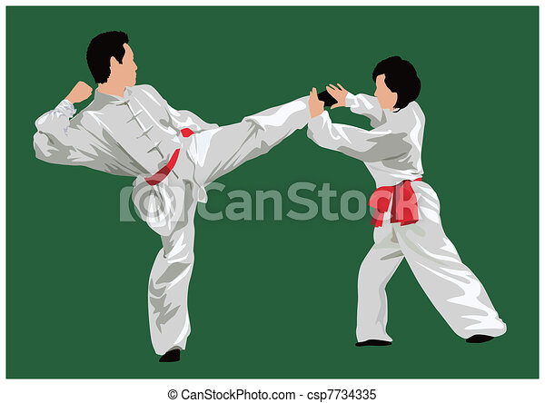 Kung fu fighting - csp7734335