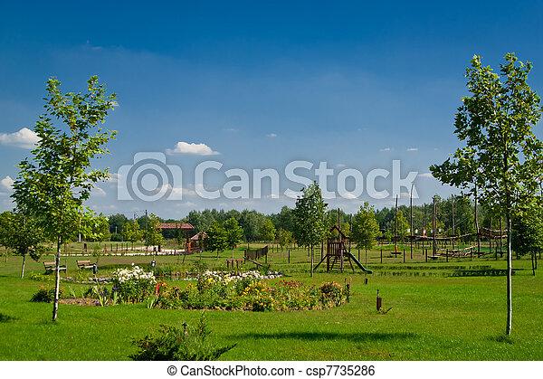 Rural Landscape Farmhouse - csp7735286