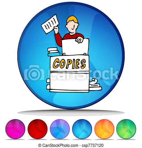 Photocopier Clipart Vector and Illustration. 553 Photocopier clip ...