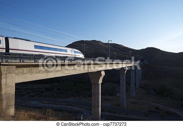 high-speed train - csp7737273