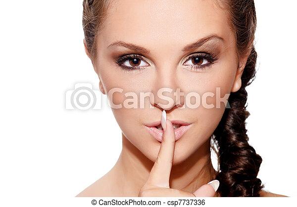 Keep silence - csp7737336