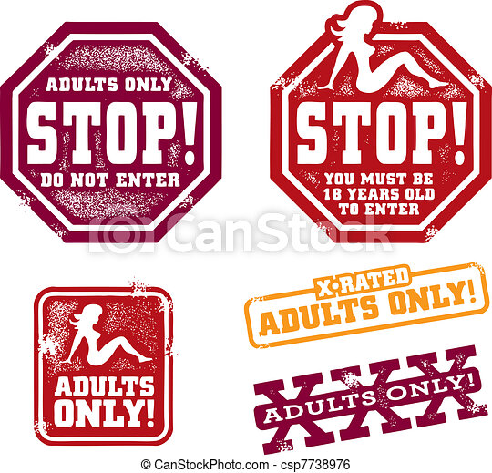 Adult themed clip art