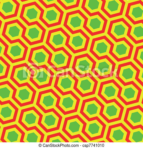 Abstract vector illustration of classical traditional artistic pattern. Ideal graphic for background, pattern or texture design. - csp7741010