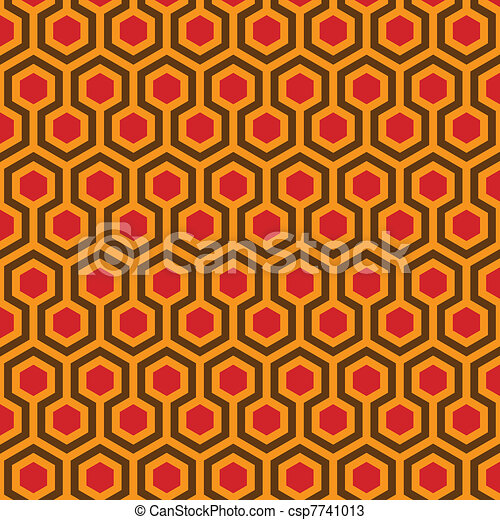 Abstract vector illustration of classical traditional artistic pattern. Ideal graphic for background, pattern or texture design. - csp7741013