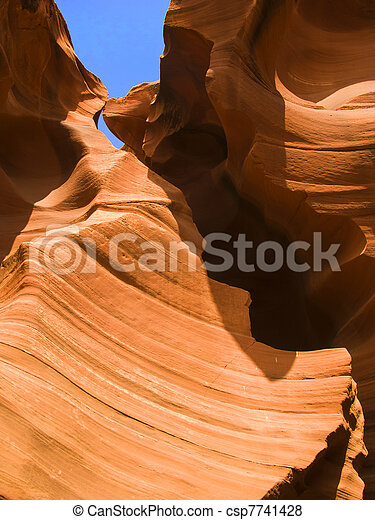 famous Antelope Slot Canyon in Page