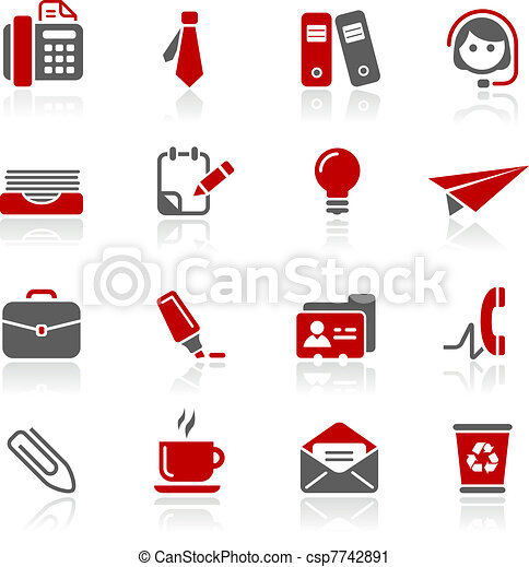 Office & Business Icons / Redico - csp7742891
