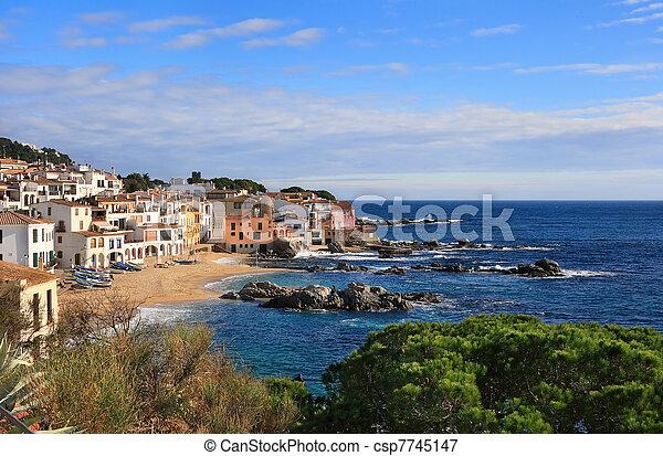 Calella de Palafrugell (Costa Brava, Spain) - csp7745147