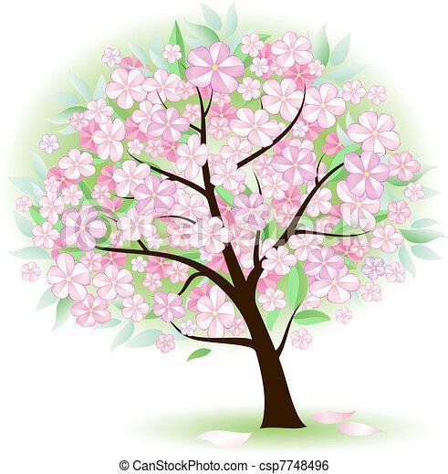 Stylized Tree - csp7748496