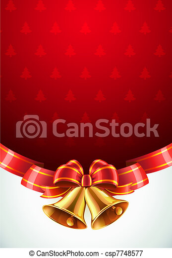Christmas decorative background - csp7748577