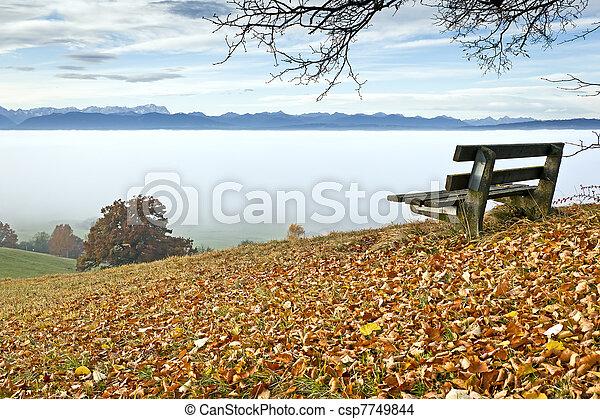 autumn scenery - csp7749844