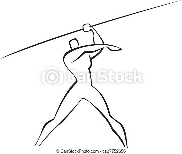 javelin thrower - csp7752656