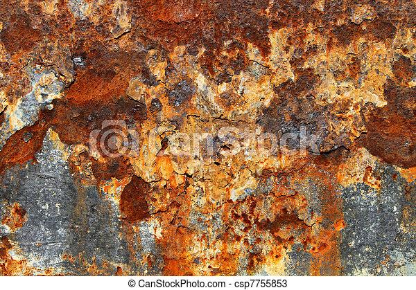Rusty Metal Texture 05 - csp7755853