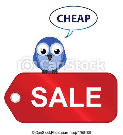 going cheap  - csp7758109