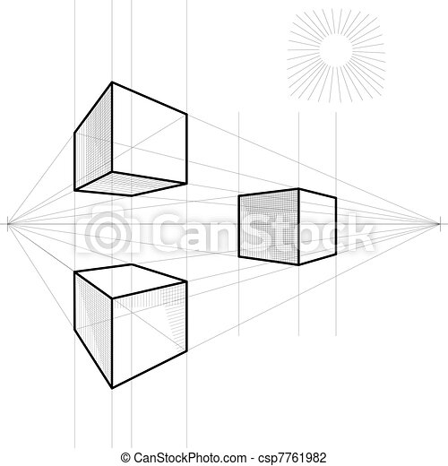4 besides Standard Spiral Stair Kits NST55466 P additionally Barbacana furthermore European Downtown Landscape Vector Illustration Pedestrian Street In The Old European City With Church On 215907 also Vector Sketch Of A Cube In Perspective 7761982. on 2 point perspective drawing from