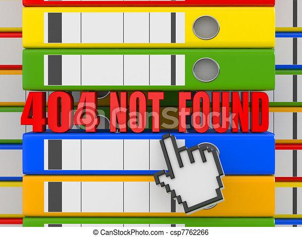 Error 404. File not found. Binders - csp7762266