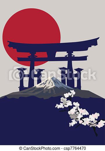 Torii Gate - csp7764470