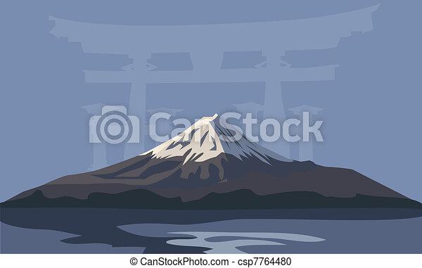 Mount Fuji - csp7764480