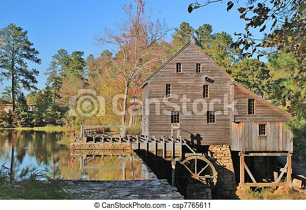 Historic Gristmill - csp7765611