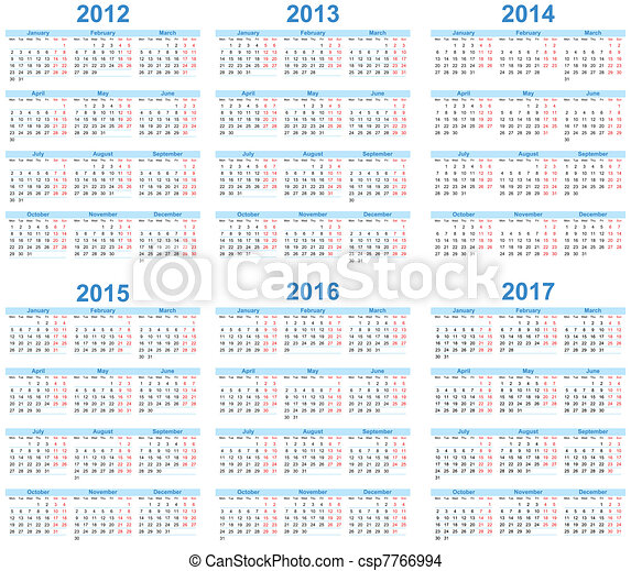 Calendar - csp7766994
