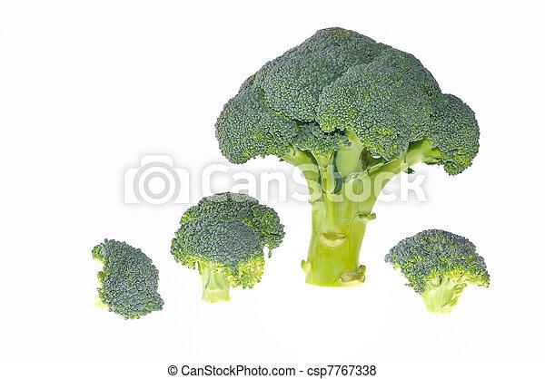 Trees of broccoli.