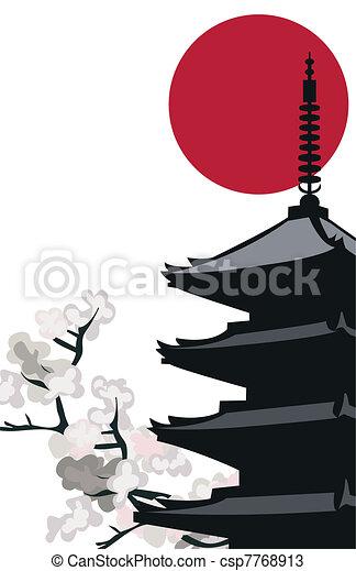 Pagoda Temple - csp7768913