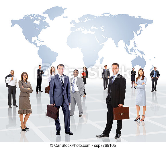 Stock Images of Young attractive business people - the elite ...