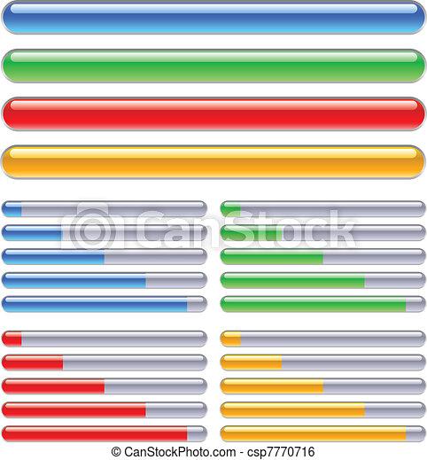 Loading progress bars - csp7770716
