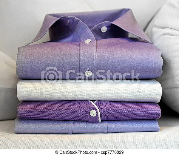 Purple shirt - csp7770829