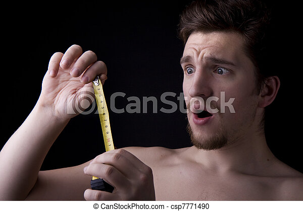 Man who looks at roulette - csp7771490
