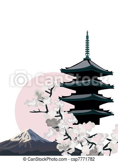 Pagoda Temple - csp7771782