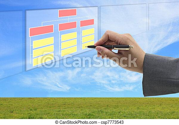 building organization and recruitment concept - csp7773543