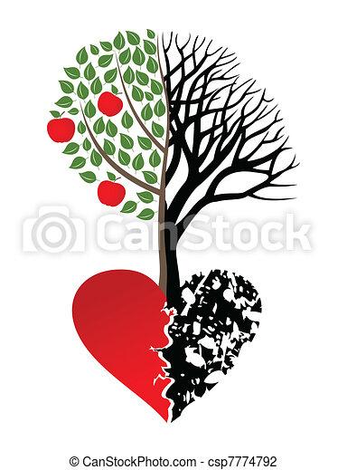 Broken heart - csp7774792