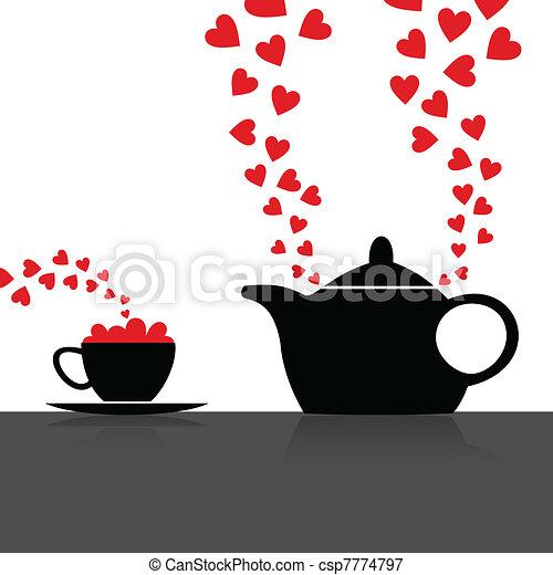 Love kitchen - csp7774797