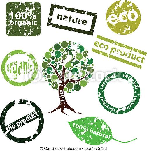 eco titles - csp7775733