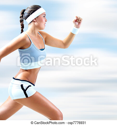Young runner - csp7776931