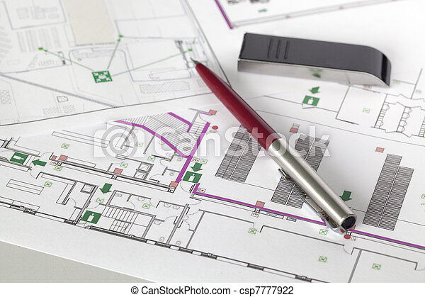 Evacuation plan - csp7777922