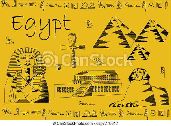 ... sphinx, pharaoh... csp7778617 - Search Clipart, Illustration, Drawings