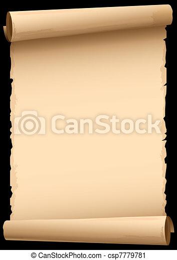 old paper - csp7779781