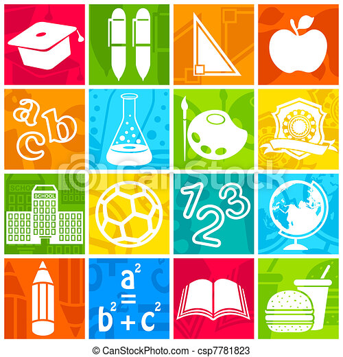 Education icon - csp7781823