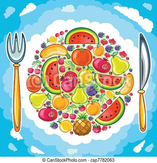 Fruity planet - csp7782063