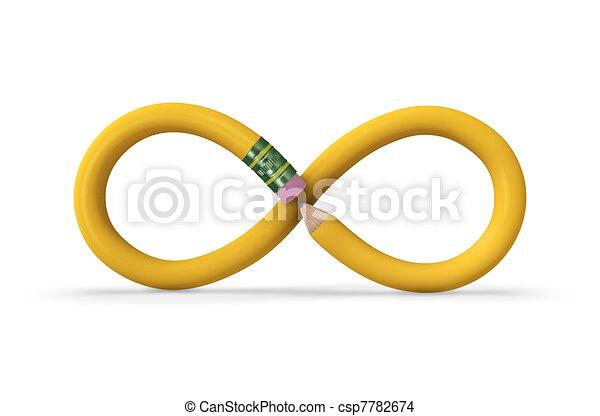 Infinite Pencil - csp7782674