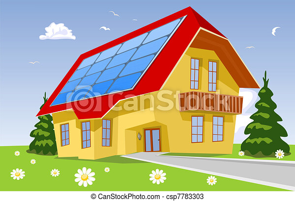 Alternative energy, solar power system - csp7783303