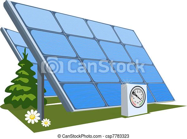 Solar panel Vector Clipart Illustrations. 5,972 Solar panel clip ...